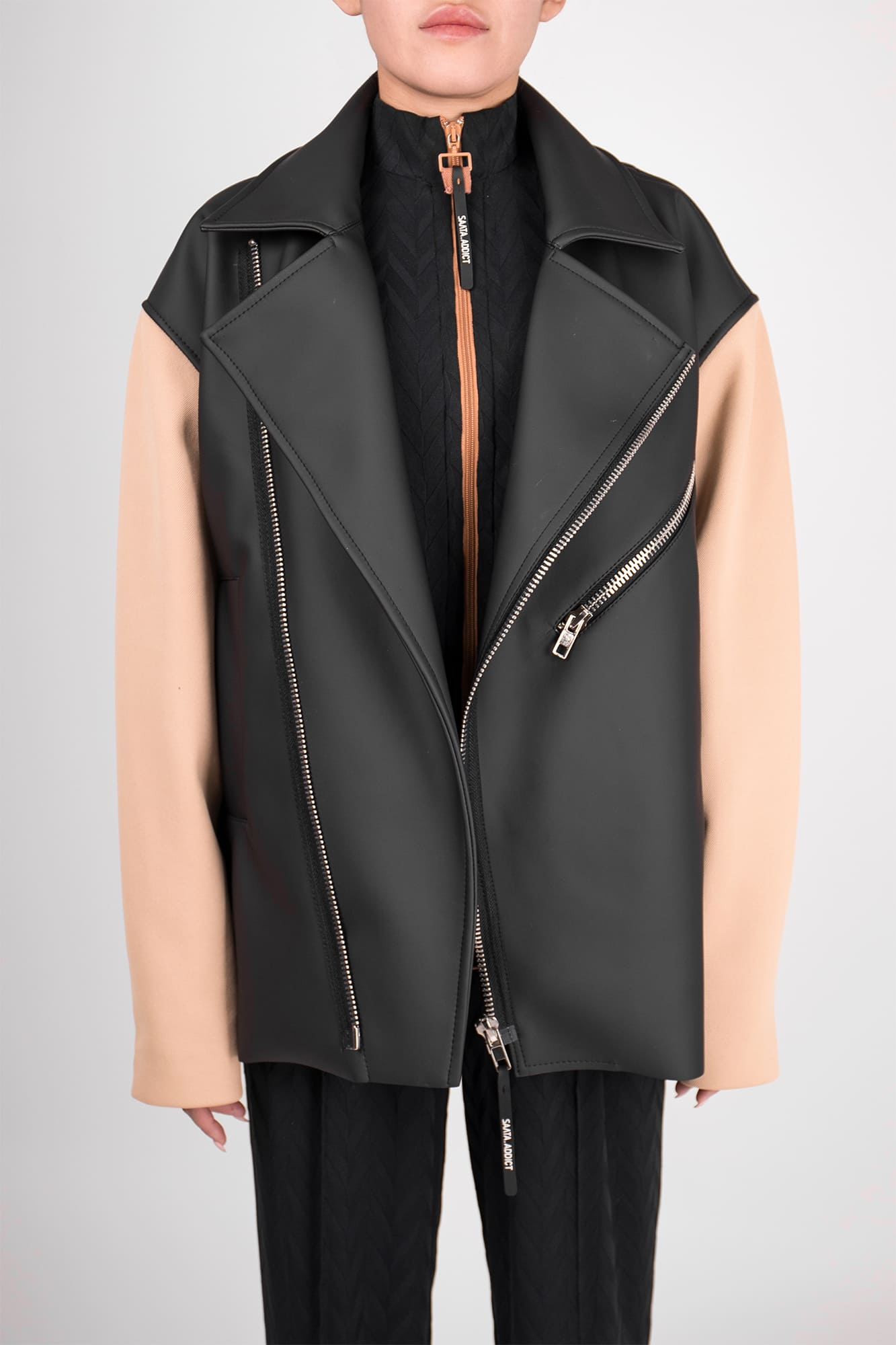 Jacket-leather J0015